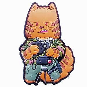 TACOPSGEAR Taccat Tactique Cat Squad Spotter Patch Airsoft Hiwez