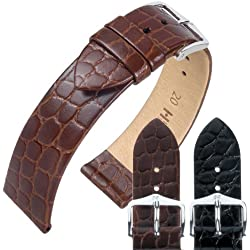 Hirsch Sobek Exotic Embossed Leather