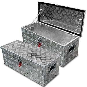 mallettes avec abus cadenas deichselbox plumier en aluminium bo te de rangement outils tool. Black Bedroom Furniture Sets. Home Design Ideas