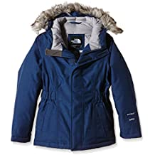 The North Face G Greenland Down Parka - Chaqueta para niña, color azul, talla YM