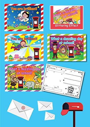 C.S. Kids KS1 Smart - Postal para niños (20 unidades)