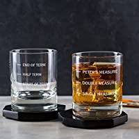 Personalised Whiskey Glass/Engraved Whiskey Glass/Fathers Day Gifts/Funny Presents For Men/Funny Dad Gifts/Funny Boyfriend Gifts