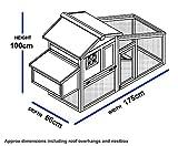 Kunststoff und Holz Hühnerstall