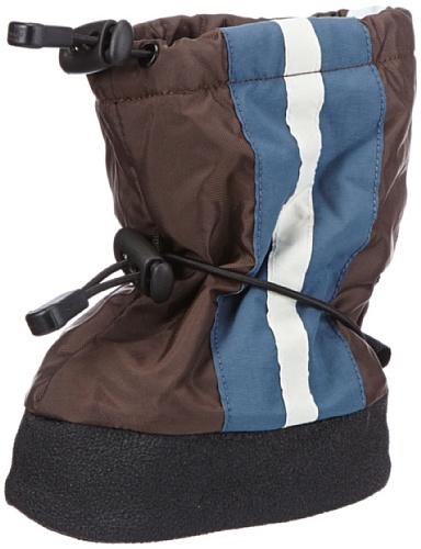Stonz Stripe - Brown BSTR170-S, Jungen Schneestiefel, Blau (Brown/Blue), EU S