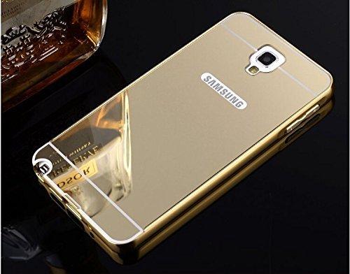 SDO™ Mirror Back Cover Case with Acrylic Bumper Frame for Samsung Galaxy Note 3 Neo (Gold)