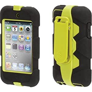 Survivor Military Duty Case for iPod Touch 4G - Yellow/Black