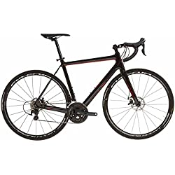 orro Pyro 105Disco, Racing Sport, bicicleta de carretera, Hombre, negro