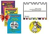 Spartiti per bambini con le note colorate. Per pianoforte e tastiera. Offerta 3 quaderni Luiraffimarti + 1 CD + cartoncino segnanote.