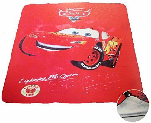 Emanhu Trading Disney Kinder Picknickdecke ca. 130x150cm mit Alu-Beschichtung vers. Motive (Cars) - Kino-130
