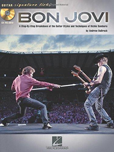 Richie Sambora-gitarre (Signature Licks Guitar: Bon Jovi: Lehrmaterial, CD für Gitarre (Guitar Signature Licks))