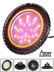 LED GROW Pflanzenlampe ATUM® SILENT GROW mit OSRAM Chips, Pflanzenlicht, Pflanzenleuchte für Chili, Cannabis, Hanf - Top QUALITÄT -3 Jahre Garantie
