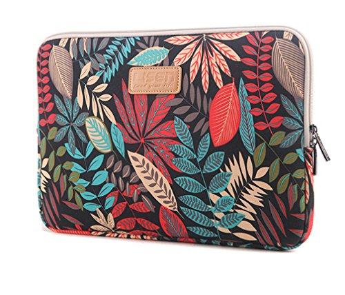 """Bohème Schutzhülle Schutztasche für Laptops Laptophülle Tasche Schutzhülle Sleeve Tasche für Laptop/Notebook Tablet iPad Tab 10\"""" Schwarz"""