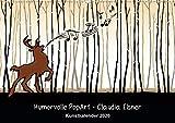 Humorvolle PopArt - Kunstkalender von Claudia Elsner (Wandkalender 2020 DIN A2 quer): Farbenfrohe Kunst mit Humor (Monatskalender, 14 Seiten ) (CALVENDO Kunst)