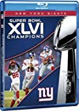 New York Giants Super Bowl XLVI Champions NFL Blu-Ray