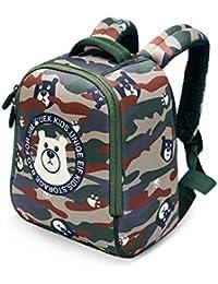 UEK Kids Backpack Toddler Preschool Bag Lunch Boxes Carry Bag Lightweight School Bag For Boys And Girls (camouflage...