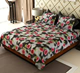 Amethyst Vivid Floral Cotton Double Beds...