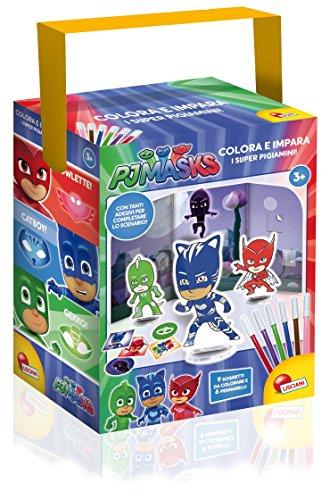Lisciani Giochi 62904–Kit colorie et apprends de Pyjamasques