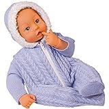 Bayer Design - Baby Bambolina, muñeca bebé, color azul (94669)