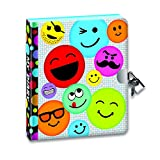Peaceable Kingdom Emoji Diary with Lock and Key