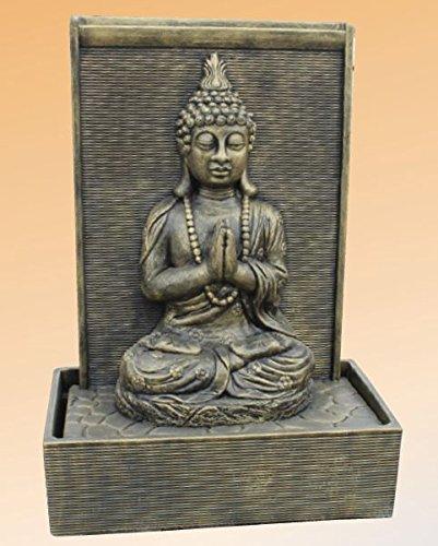 Fuente Zen Grande de piedra - Acabado Metálico 3