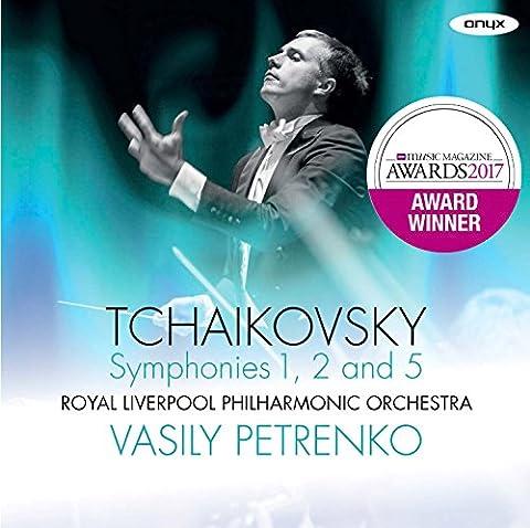 Tchaikovsky: Symphonies 1, 2, 5