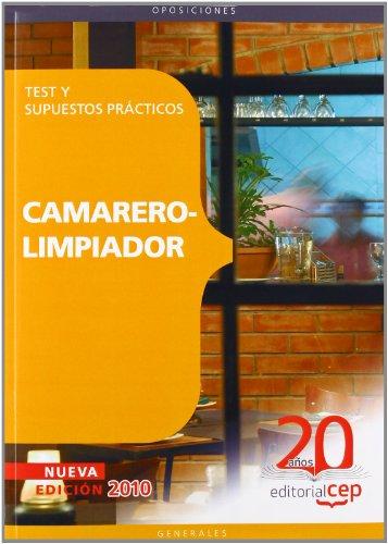 Camarer. Test y supuestos practicos camarero-limpiador (Colección 65) por Sin datos