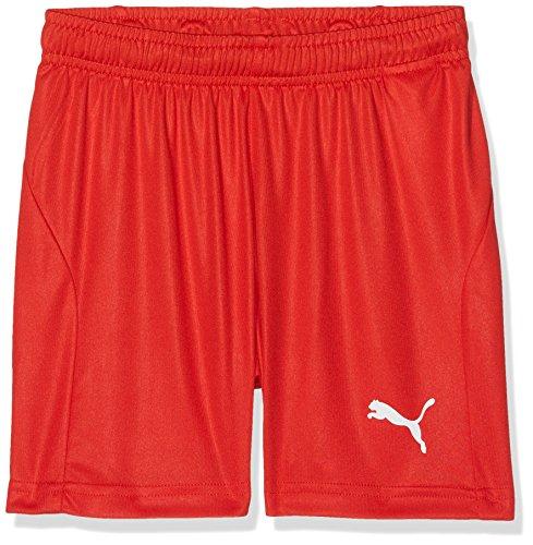 PUMA Kinder Liga Core Shorts Red White, 140