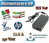 ALIMENTATORE ORIGINALE HP CORE2/ICORE 19.5V 11.8A 230WATT immagine