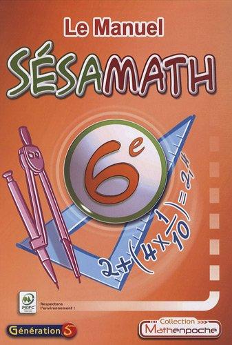 Le Manuel Sésamath 6e