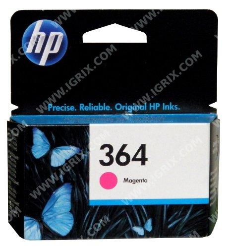 HP 364–Magenta Tintenpatrone - Hp-drucker-patronen, 110