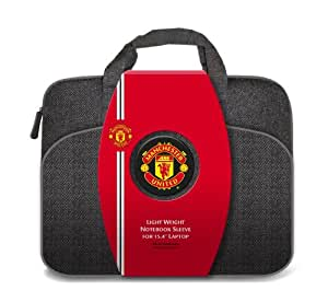 Officiel MANCHESTER UNITED FC 39,1 cm manches pour ordinateur portable/notebook