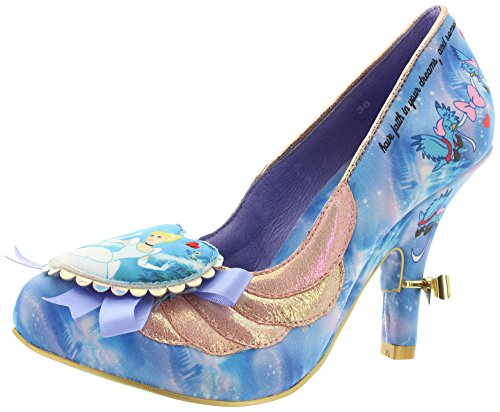 Irregular Choice Donna Faith in Dreams décolleté, blu (blu), 43 EU