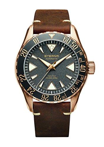 Eterna Kontiki Diver l.e 300pezzi 44mm orologio da uomo 1290–41–89–1418
