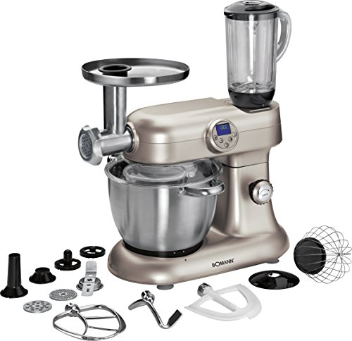 Bomann-KM-379-CB-Robot-de-cocina-Acero-inoxidable-Acero-inoxidable-Importado