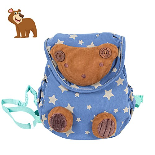 e5cc10695c Flyingsky Rabbit Animals Kids Book Backpack Baby Girls School Bag ...