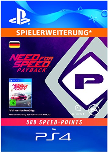Need For Speed Payback - 500 Speed Points DLC   PS4 Download Code - deutsches Konto