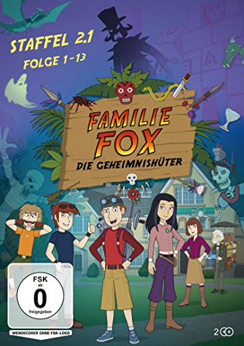 Familie Fox – Die Geheimnishüter Staffel 2.1 (Folge 1-13) [2 DVDs]
