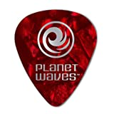 Planet Waves Médiators Planet Waves rouges, pack de 10, Medium