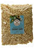 Coconut Merchant Toasted Coconut Chips (500g) (Toasted 500g x1) Vegan   Low GI   Ethically Sourced