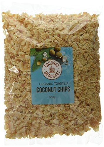 Coconut Merchant Toasted Coconut Chips 500 g (Pack of 3) Test