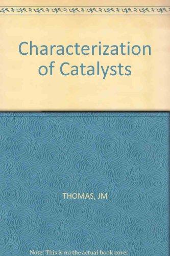 Thomas *characterization* Of Catalysts