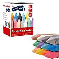 Smart Planet® Street Chalk in 12 Street Chalk Approx. 10 x 2 x 2 cm Children