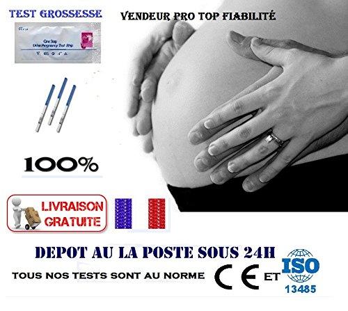 5 Tests De Grossesse Précoce HCG Résultat Rapide Vendeur Professionnel en France Livré Gratuit