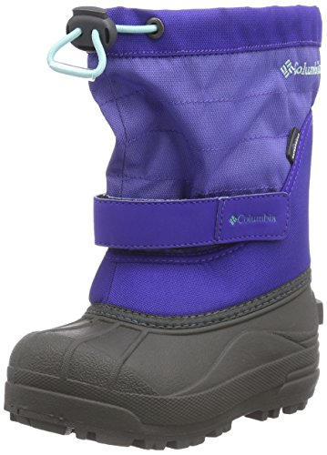 Columbia - Childrens Powderbug Plus Ii, Scarpe Da Trekking infantile Viola (purple lotus/gulf stream 546)