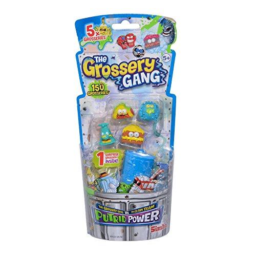 Simba 109291021 Grossery Gang Putrid Power Sammelfiguren, 5er Pack (Gang-outlet-box)