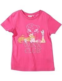 Tee shirt manches courtes enfant fille Winx club - Fée Bloom - Rose 4ans
