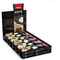 Prozis Zero Snack - Barra rico en proteína y Bajo en Hidratos de Carbono y Azúcares, 12x35g, Chocolate Blanco con Frambuesas