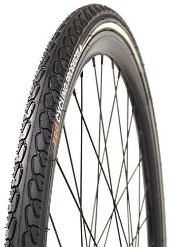Red Cycling Products Fahrrad-Reifen 700 x 35c / 37-622 Pannenschutz-Reifen | Fahrrad-Mantel für City-Bike, Trekking-Rad und mehr | Reifen-Größe 28 x 1,40 Zoll