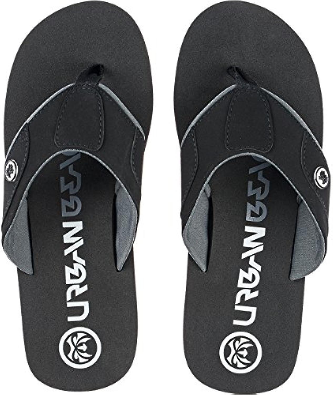 Para hombre Urban Beach piscina negro Harrahs fw808 chanclas sandalias tamaño UK 6 – 11
