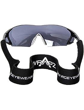 WrApz - Gafas de esquí color negro